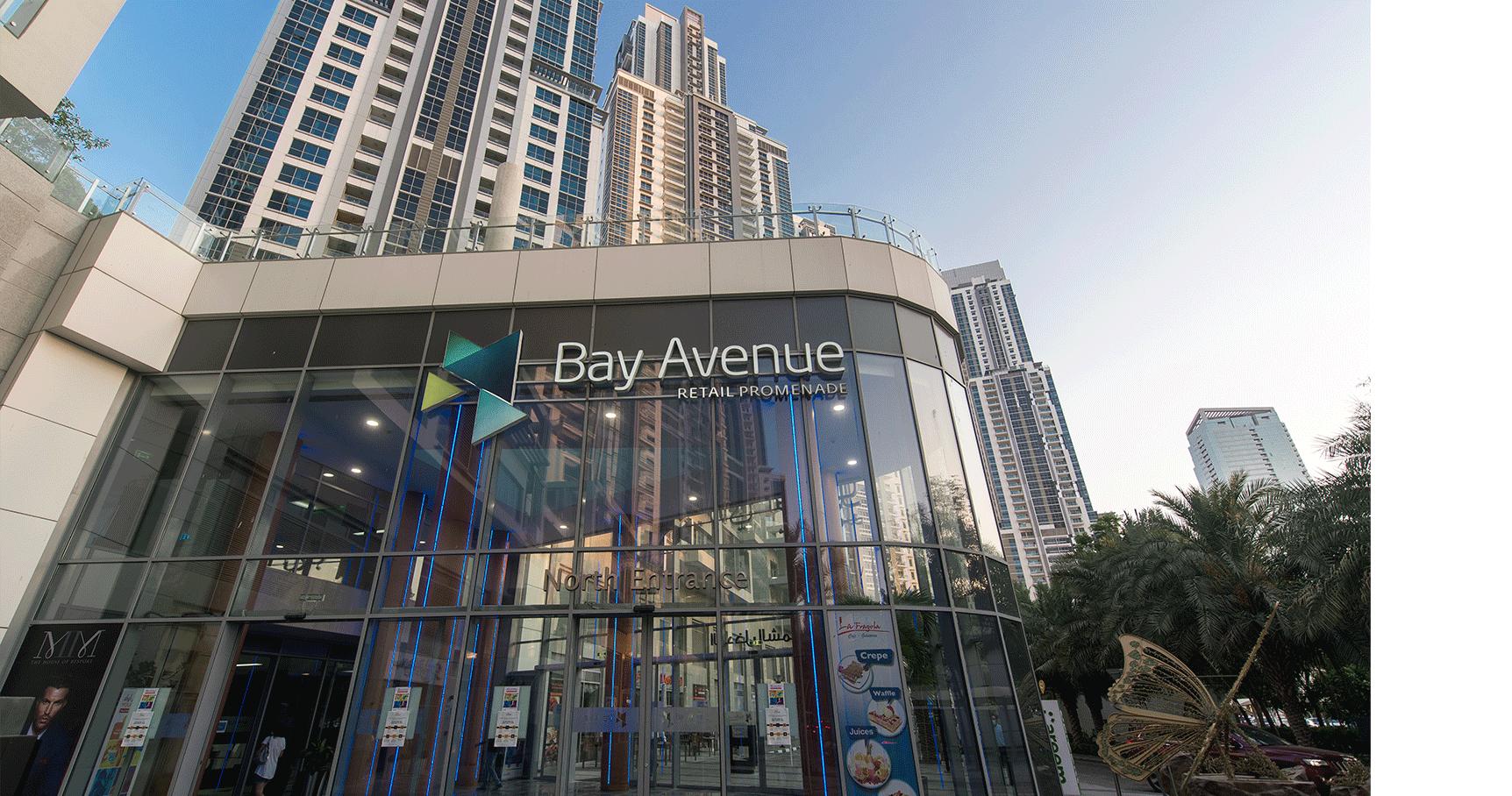 bay avenue outside