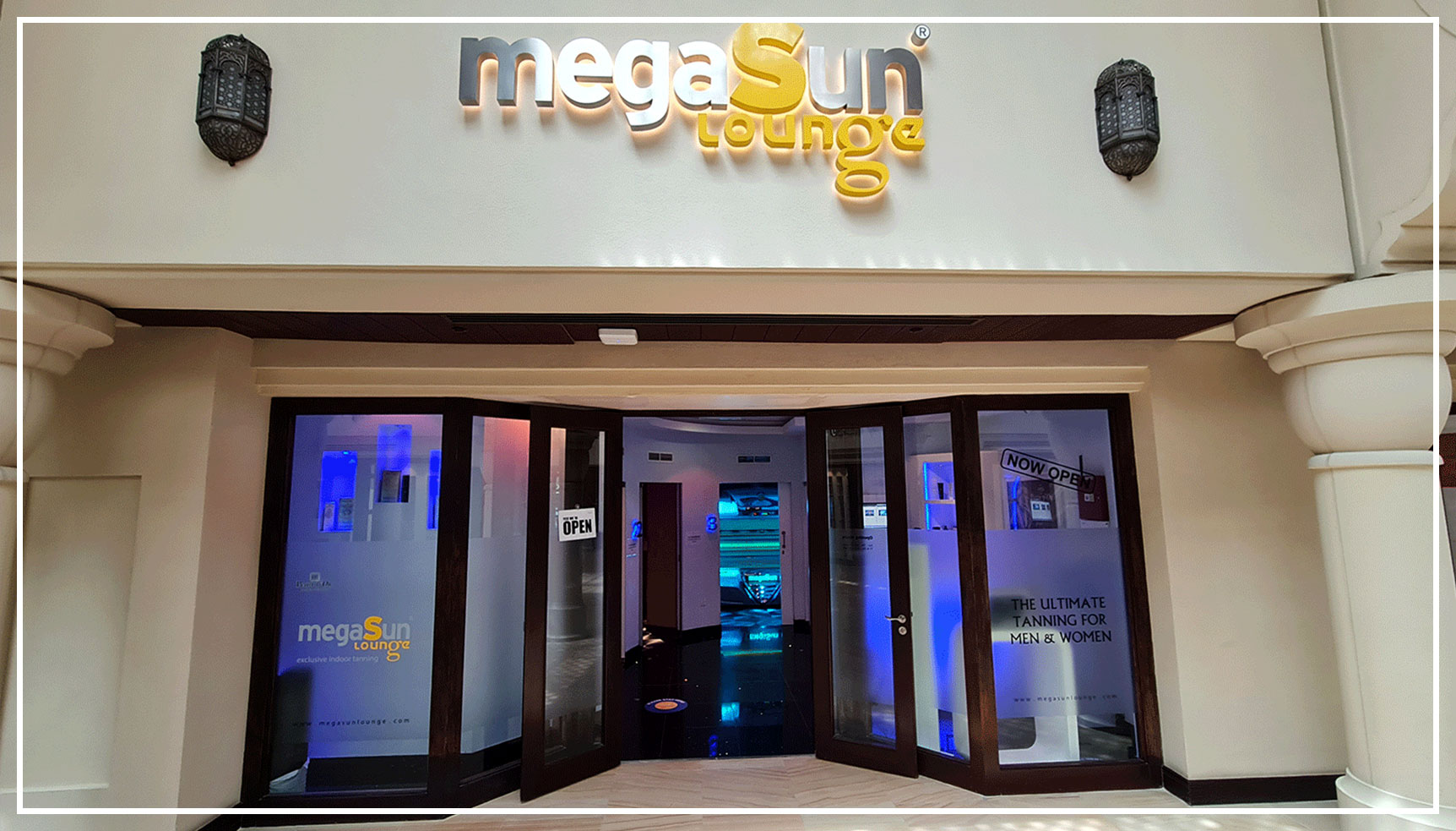Megasun lounge entrance