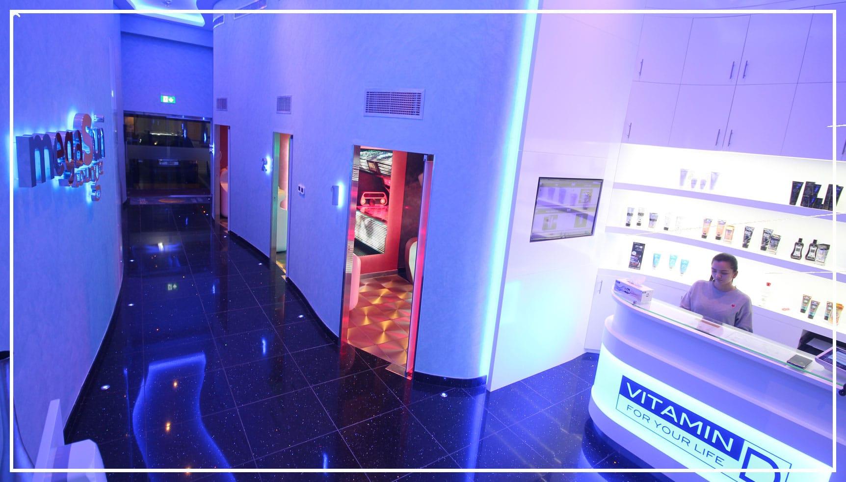 megasun lounge entrance DMC